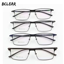 P9960 титановый сплав оправа для очков, мужские очки, IP гальванический сплав, полный обод, оправа для очков, пружинные петли