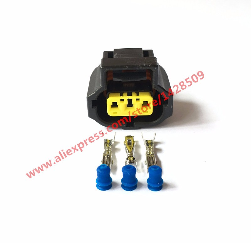 ford wiring connectors 5 sets tyco amp 3 pin pico 5716pt 1996 on for ford alternator classic ford wiring connectors ford alternator