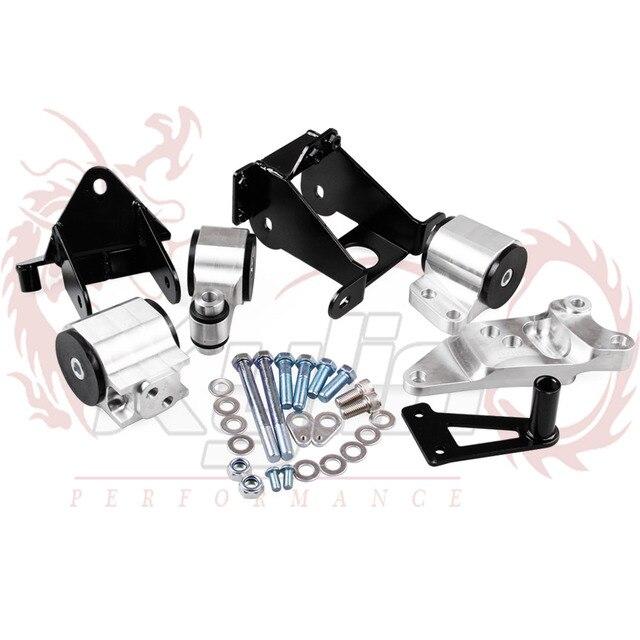 New Arrived Aluminum Engine Swap Mount Kit For HONDA CIVIC SI - Acura rsx motor mounts