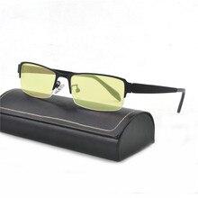 Azul Do Vintage da moda Óculos TR90 Unbreakable Para Jogos de Computador  Óculos de Protecção Contra 93ad7d9cf1