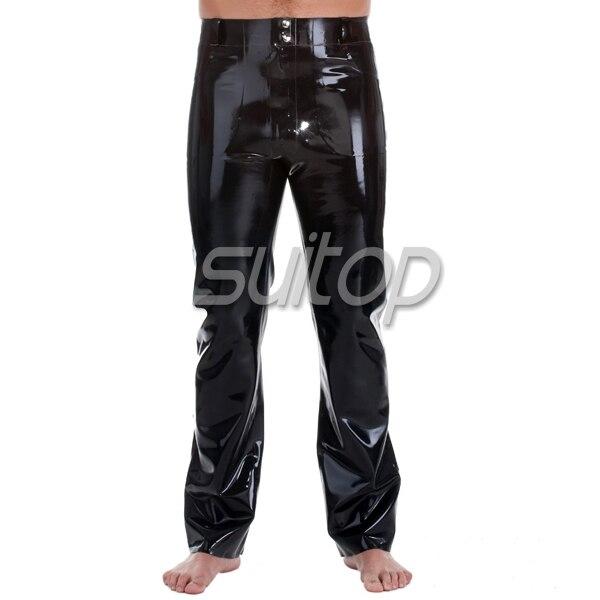 1f51fe3233 Pantalones de goma para caballero en Pantalones casuales de La ropa de los  hombres en AliExpress.com