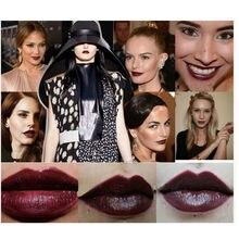 Makeup Lip Stick Sexy Vampire Batom Lipstick Party Makeup Black Red Dark Purple Green Blue Lipsticks Lip Cosmetics