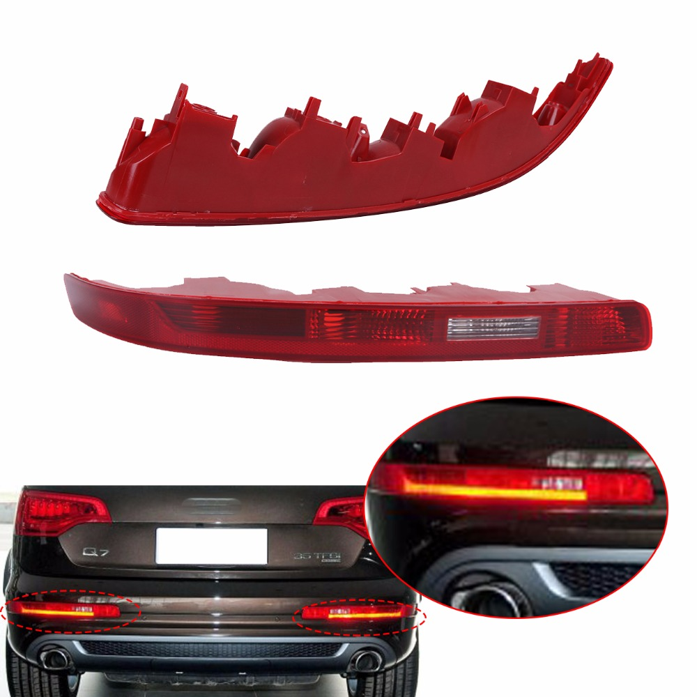 Rear Bumper Tail light Taillight Stop Fog Lamp For Audi Q7 2007-2015 Elite S Line Sport Luxury TDI Premium //// Rear Bumper Tail light Taillight Stop Fog Lamp For Audi Q7 2007-2015 Elite S Line Sport Luxury TDI Premium ////