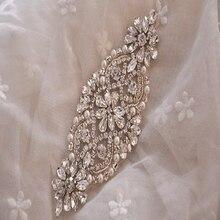 Серебряные стразы аппликация пояс невесты кристалл жемчуг ленты свадебный пояс Кушак для свадебная одежда подружки невесты Dresses-RA014-Y9511