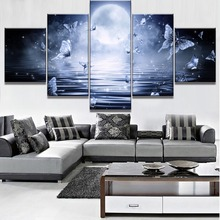 Butterfly Landscape Canvas Wall Art Home Decor For Living Room Paintings on for Decorations
