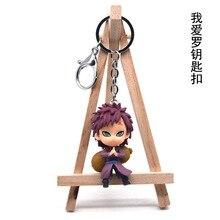 Naruto Key chain Sasuke/itachi/Kakashi Double Sided Acrylic KeyChains Pendant Anime Accessories Cartoon Ring 2019 New