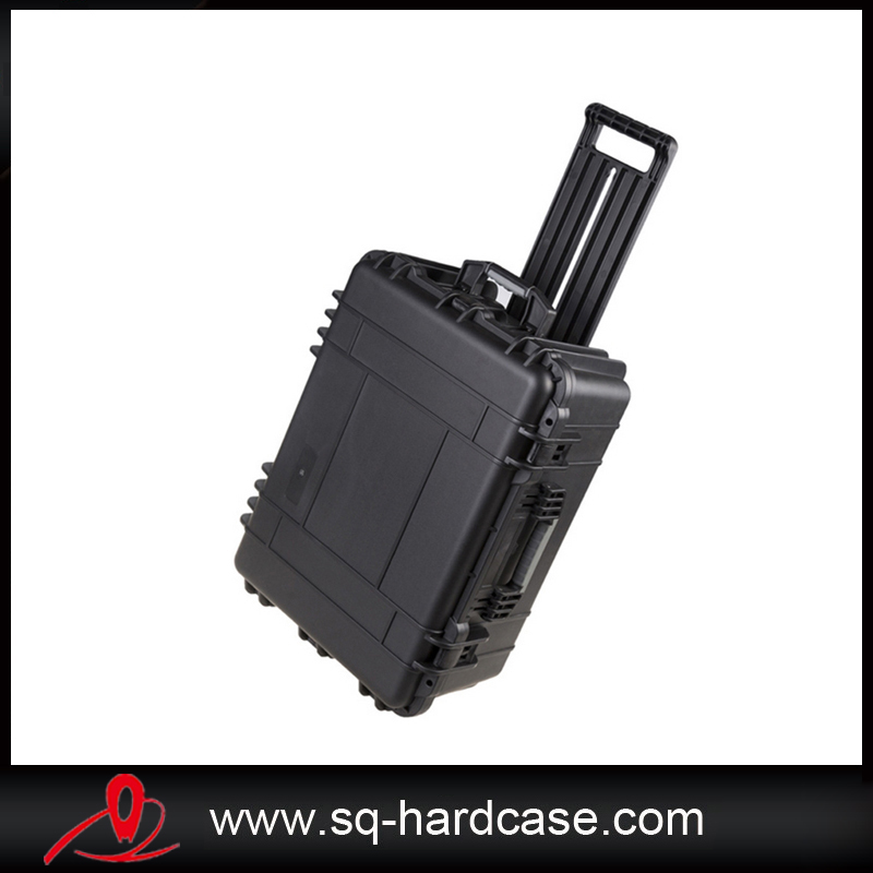 Solid  Flight Case With Precut Foam Inside, Hard Shipping Box For Instruments