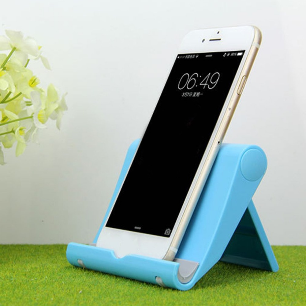 Multifunctional Small Size Adjustable Angel Universal Foldable Smartphone Stand Holder Compact Phones Support Holder