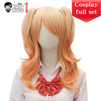 HSIU High Quality Anime Citrus Aihara Yuzu Cosplay Costumes Wig Set Short skirt Japanese style student wear Halloween Costumes