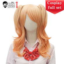 HSIU High Quality Anime Citrus Aihara Yuzu Cosplay Costumes Wig