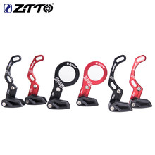 ZTTO Bike Chain guide MTB Bicycle chain guide 1X System ISCG 03 ISCG 05 BB mount Wide Narrow Gear chain guide 7075 CNC RED/BLACK(China)