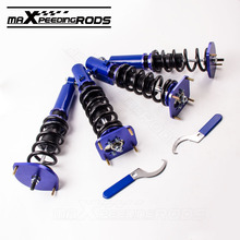 Coilovers for Mazda Savanna RX7 RX-7 86-91 1.3L R2 GAS Turbocharged Coupe 86-91 Coil Spring Coupe Convertible Height Adjustable