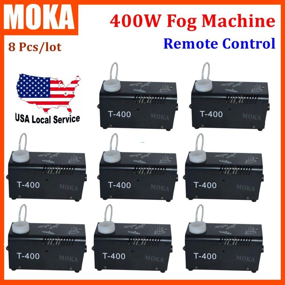 8Piece/lot 400W Fogger machine wireless control Stage Disco KTV DJ smoke machines,Halloween Party Wedding Fog machineEffects