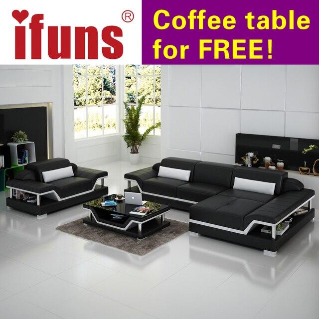 Ifuns Salon Meubles Fabricant Design Moderne Vivant Roomleather