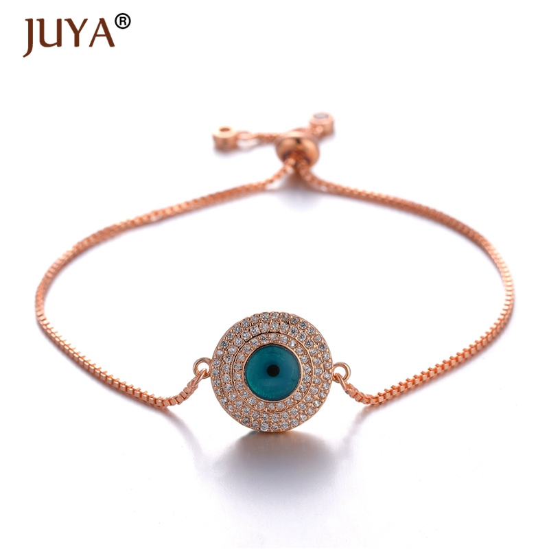 Silver String Hamsa Charm Bracelet Evil Eye Protection Bad Luck Curse Good Luck