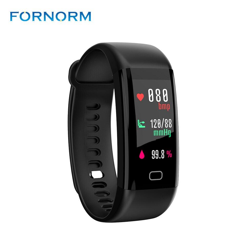IP68 Impermeabile Bluetooth 4.0 Astuto Della Vigilanza Del Braccialetto Attività Fitness Tracker Wristband Orologi Blood Pressure Monitor/Contapassi