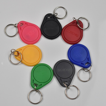 500pcs/bag EM4100 TK4100 Tags 125Khz RFID Proximity EM ID Card Keyfobs Token Keys for Access Control Time Attendance