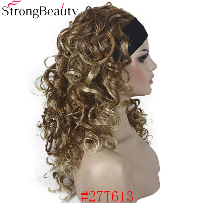 RM 5985 27T613 Synthetic Half Wig With Headband (5)