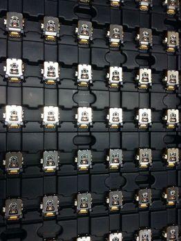 20pcs/lot KSS-660 KSS-662 KSS660 KSS662 Case for Volkswagen Bora Front In dash 6 Disk CD A33 Car Laser Lens Optical Pick-ups