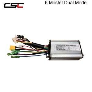Image 4 - ebike Controller 6 9 12 18 Mosfet 36V 48v e Bike Controller Sine Wave/ Dual Mode Brushless KT Electric Controller