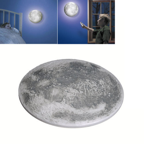 Moon In My Room Decor Projector Projection Night Light With Remote Control