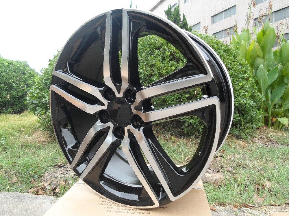 19x8 0 et 55 5x114 3 OEM Black Machine Face alloy wheel rims W307 for your