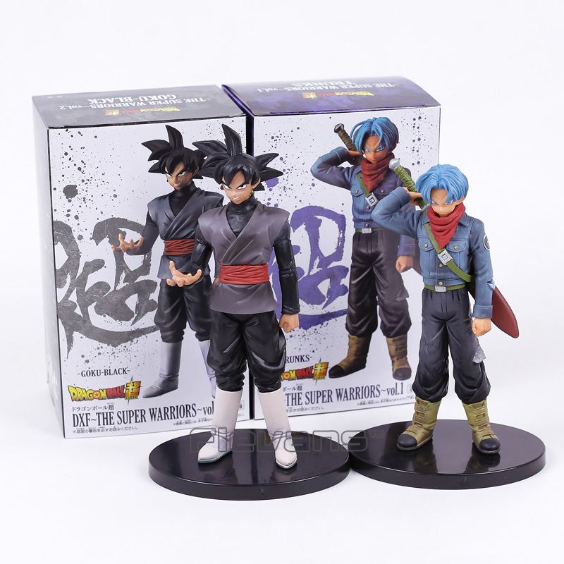 Dragon Ball Super DXF The Super Warriors TRUNKS / SON GOKU BLACK PVC Figure Collectible Model Toy 32cm dragon ball super the super warriors vol 3 figure collection goku black action figure