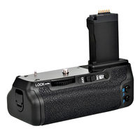 meike MK 760d Vertical Battery Grip hand pack holder For canon 750D 760D Rebel T6i T6s camera LP E17 as BG E18