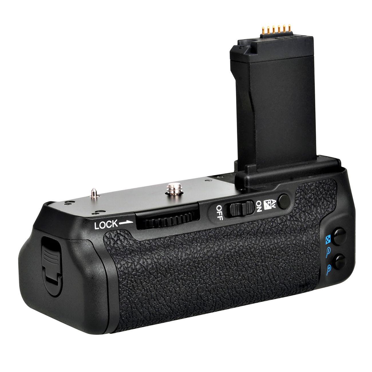 Meike MK-760d support Vertical de poignée de batterie pour canon 750D 760D rebelle T6i T6s caméra LP-E17 comme BG-E18