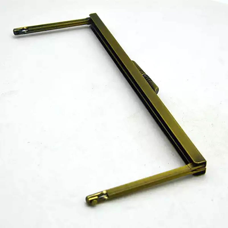 Purse Frames 200mm/8 Bronze (Slide In) Glue In