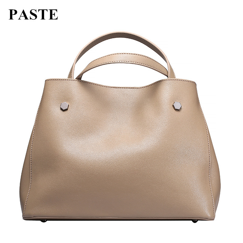2017 New Autumn&Winter Fashion Female Handbag/ Genuine Cow Leather Women Shoulder Messenger Bag/Brand Design Casual Tote Bags women floral leather shoulder bag new 2017 girls clutch shoulder bags women satchel handbag women bolsa messenger bag
