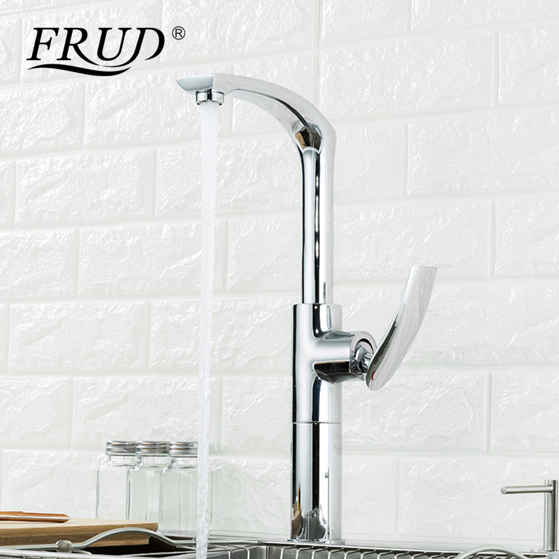 Frud High Quality Deck Mounted Wall Mounted Hot and Cold Water Universal Rotatable Vegetable Kitchen Faucet Single Handle Y40068Frud High Quality Deck Mounted Wall Mounted Hot and Cold Water Universal Rotatable Vegetable Kitchen Faucet Single Handle Y40068