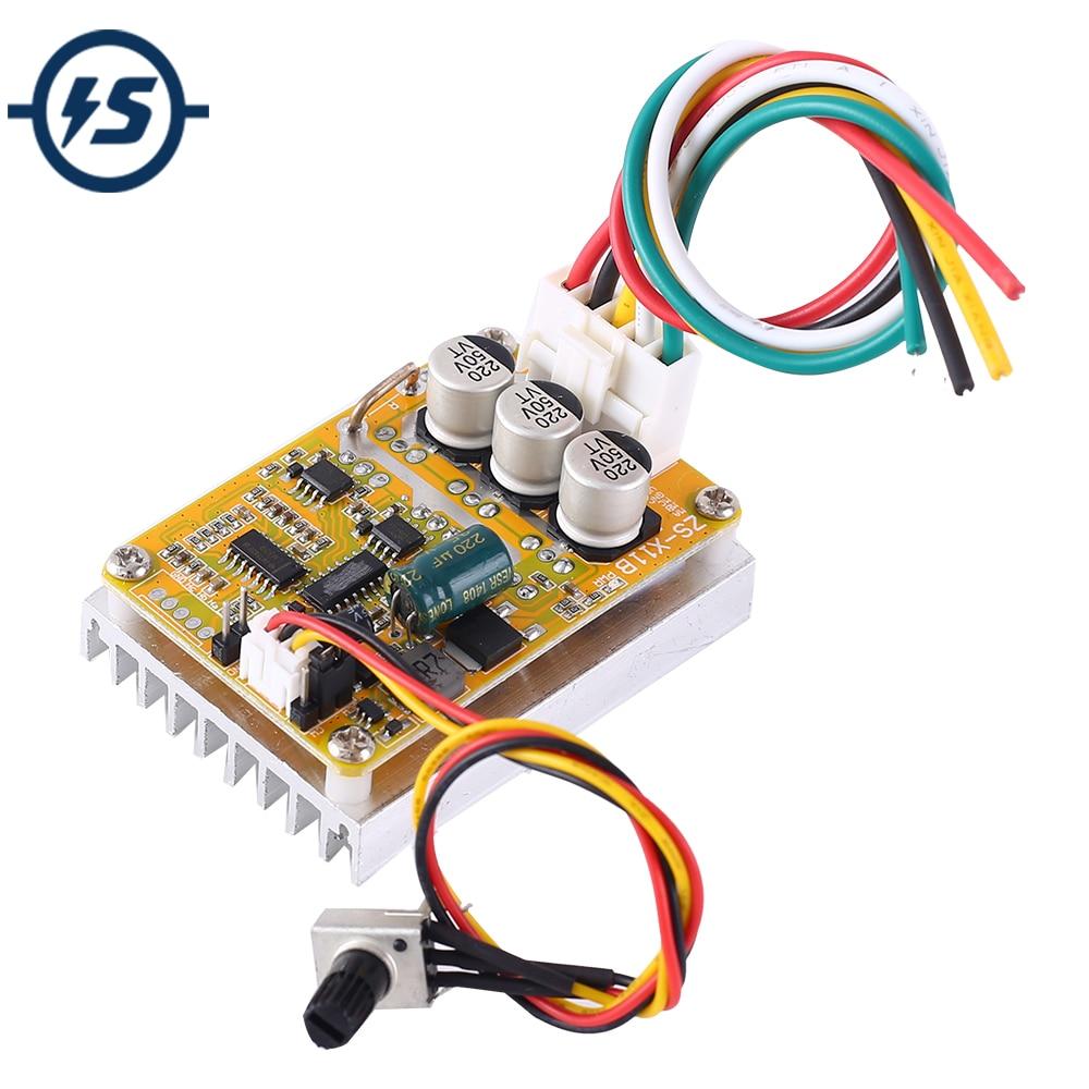 High Power DC Brushless Motor Driver Module Motor Controller DC 5V-36V 350W PWM Adjustment Speed Board