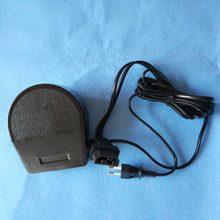 Máquina De Costura doméstica Pedal Controlador, 220 V-240 V, 1A, Euro Plug Pin & Conector tamanho 31.5X14.2mm, Para O Irmão, Elina, TOYOTA ..