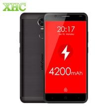 Ulefone tigre 2 gb + 16 gb lte 4g métal mt6737 quad core 4200 mah d'empreintes digitales 5.5 pouce hd écran android 6.0 1.3 ghz 13mp smartphone