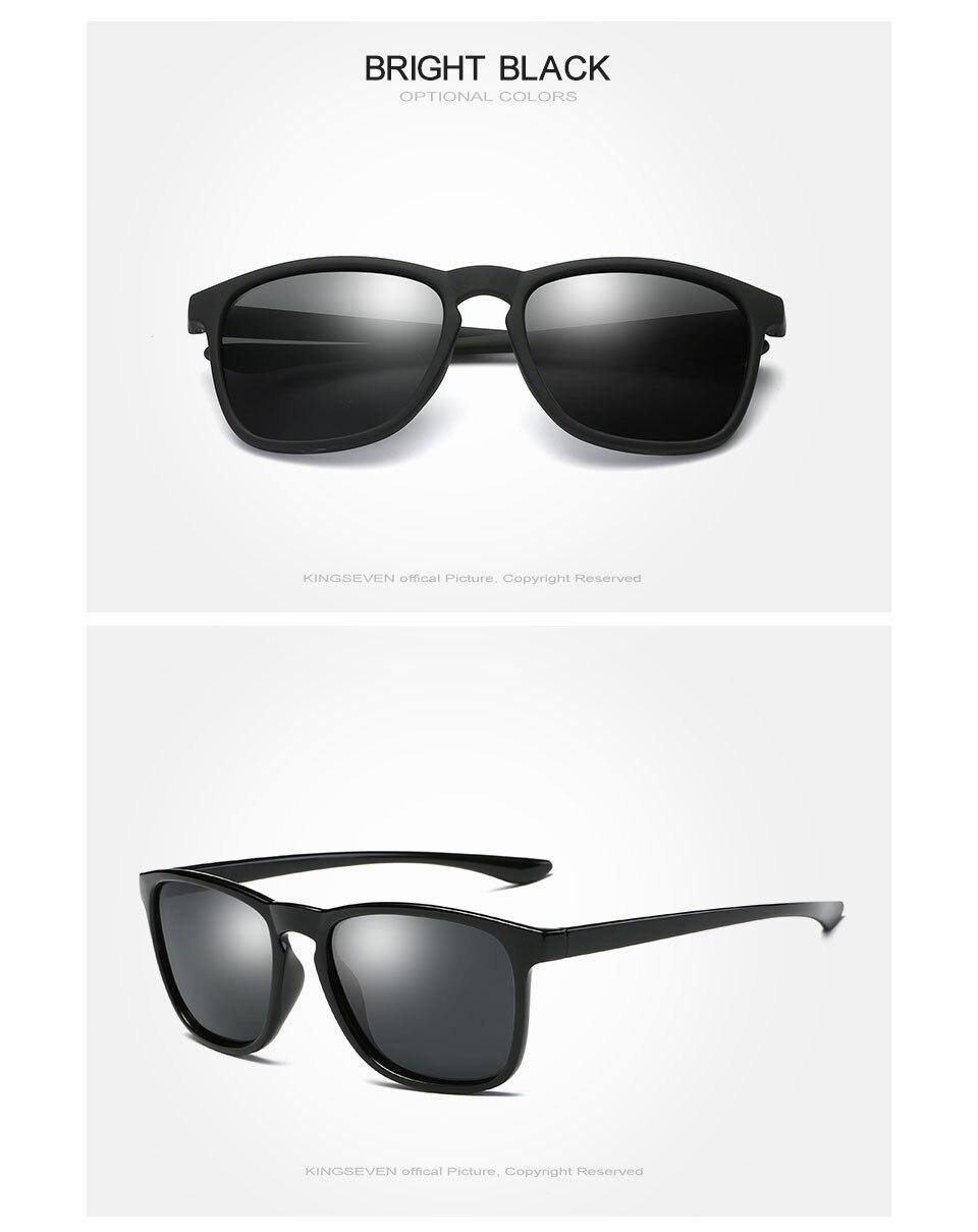 KINGSEVEN 2017 Polarized Sunglasses Men Women Fishing Driving Sun glasses Brand Designer Frame Gafas De Sol N7916