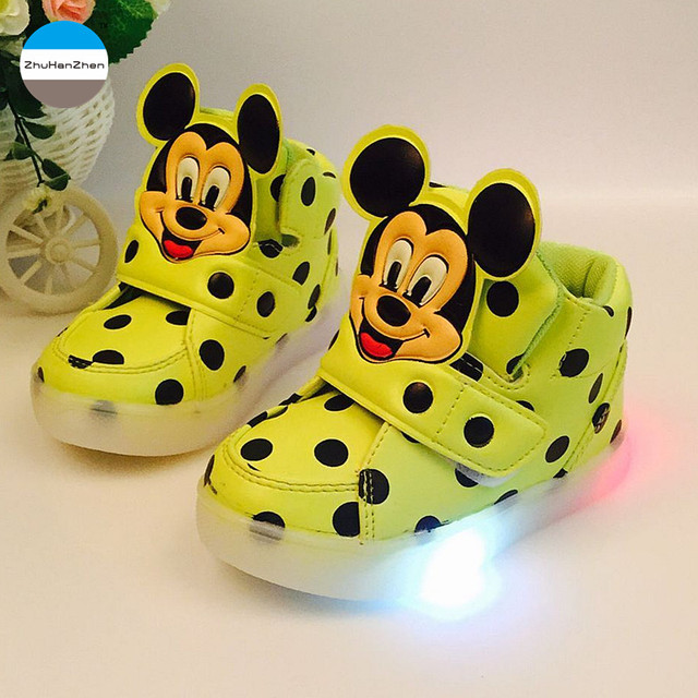 2018 Cartoon Children Casual Shoes 1 3 Years Old Baby Boy And Girl