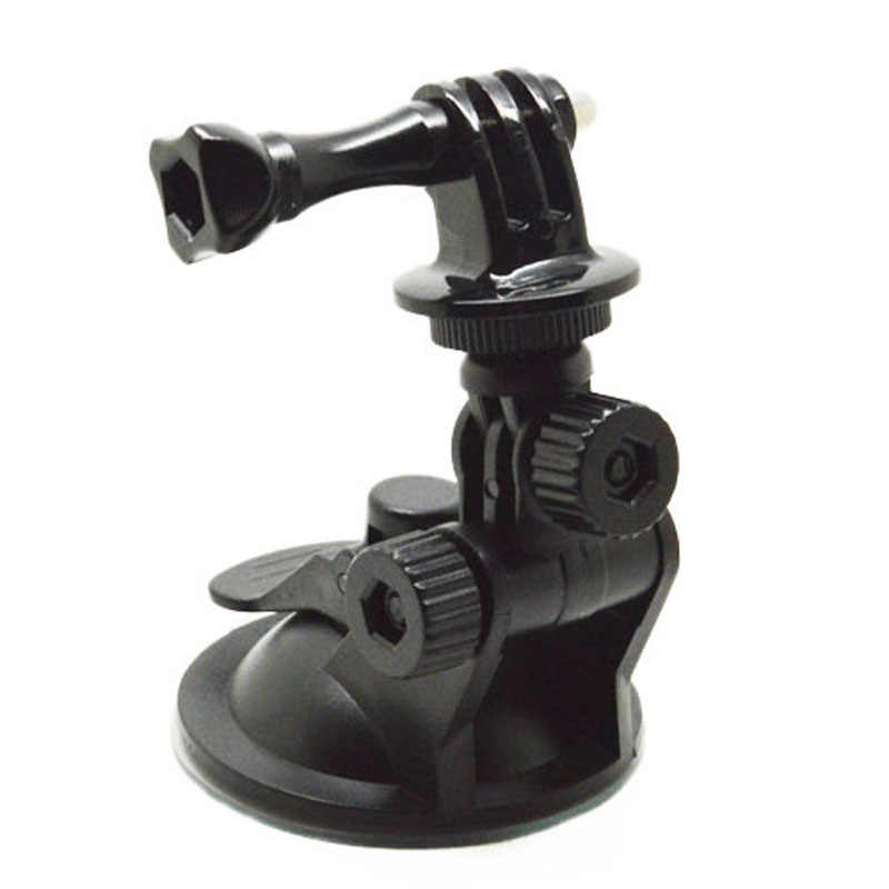 Dla akcesoria GoPro kamera akcji przyssawka mocowanie do statywu przekrętka dla GoPro 4 3 2 1 SJCAM SJ4000 EKEN H9 Xiaomi Yi Cam