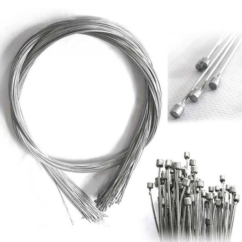 10Pcs Bicycle Brake Line 1.75M Road Bike Bicycle Brake Inner Wire Cable Line Galvanized Steel Wire Bike Cycling Accessories New