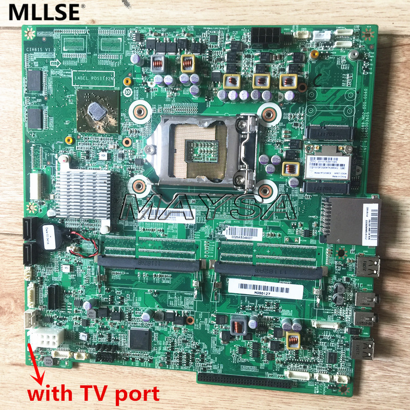 все цены на Laptop Motherboard Fit For lenovo B320 B320i CIH61S main board 11S1006932 with discrete graphics TV port онлайн