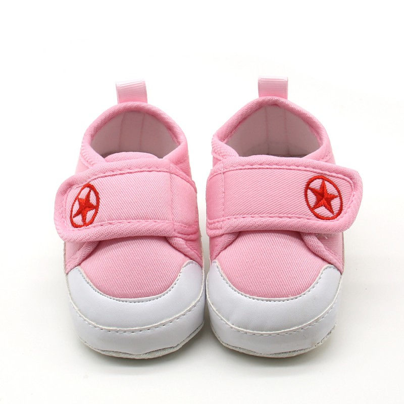 Newborn Baby First Walkers Boy Girls Prewalker Anti-skid Toddler Shoes Fresh Candy Color Soft Bottom Baby Shoes For 0-18M