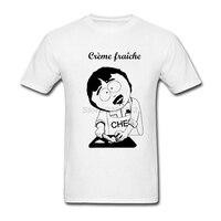 여름 남성 크림 쉐 남쪽 공원 티셔츠 최고 판매 티 펑키 디자인 빈티
