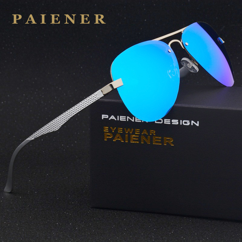 2017 New Brand Aluminum Polarized Sunglasses Men women Sports 6 Color lense Sun Glasses Driving Mirror Eyewear Accessories