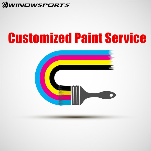 Winowsports Customized paint service DIY Painting for carbon frame or  wheels others carbon bike parts on Aliexpress com | Alibaba Group