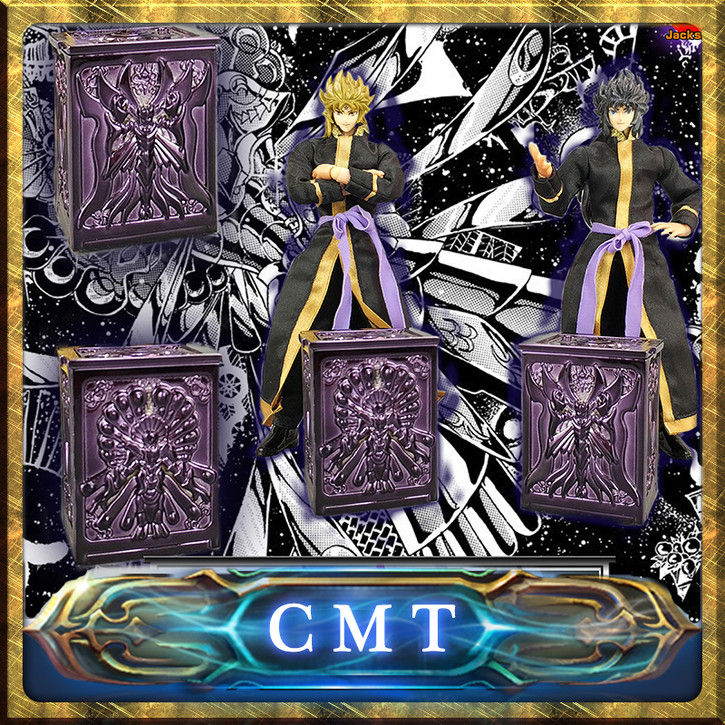 CMT Jacksdo 5 bronze Saint Seiya Myth Cloth Pandora Box Hydrus Ursa Minor LeoMinor unicorn cmt jacksdo saint seiya soul of god bronze pandora boxes full set