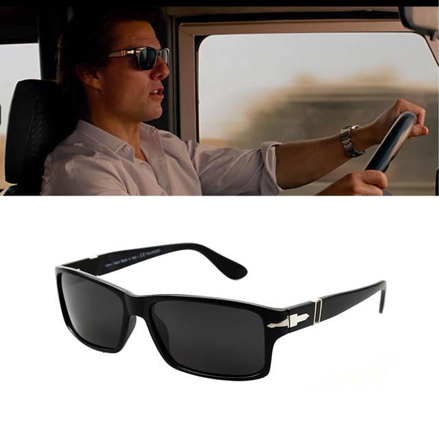 938fc309d4 placeholder JULI Brand Polarized Driving Men Sunglasses Mission Impossible  4 Tom Cruise Style Sun Glasses UV400 Oculos