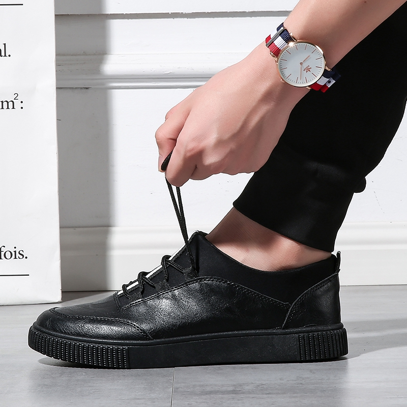 Casual Men Shoes 2020 Fashion Spring Breathable Soft Men Shoes High Quality Pu Leather Shoes Men Flats Gommino Driving Shoes