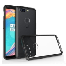 Slim Hybrid Shockproof Skin Cover Air Cushion Case Transparent Acrylic Mask Clear Shell Fundas Coque For Oneplus 5T 5 T 1+5T