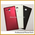Original Battery Door Rear Housing Back Case Cover For Sony Xperia SP M35 M35h C5302 C5303 Housing+Logo, Free Shipping