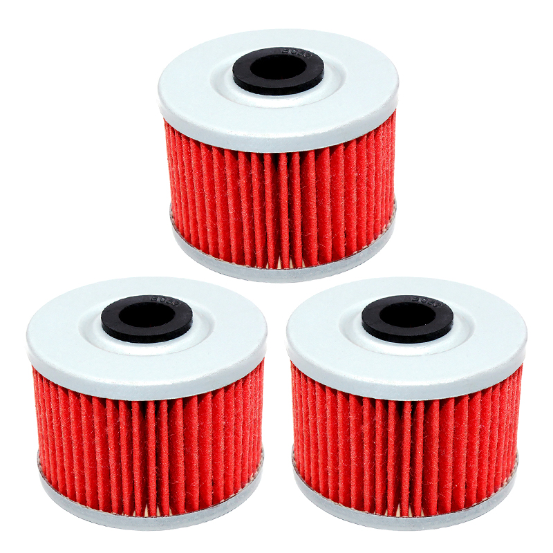 HURI 2 Pack Oil Filter for CRF450X CRF450R 2004 to 2016 2002 to 2016 Replace Hiflofiltro HF116 // K/&N KN-116 // 15412-MEB-671 // 15412-MEN-671